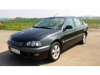 Left hand drive Toyota avensis 2.0 TD Saloon ,From Holland