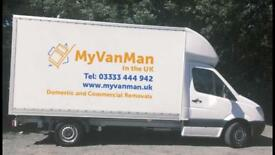 Removals Man and van Rochdale Oldham