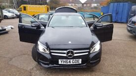 Mercedes Benz C class C220 SPORT Blue TEC 4dr Auto SAT NAV Prep fully loaded