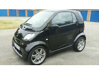 GENUINE MERCEDES SMART BRABUS COUPE SHOW CAR 698cc TURBO IN BLACK AUTOMATIC BEAULIEU SHOW FINALIST