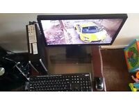 "Slim Super Core2Duo 3Ghz 64bit PC, 4GB RAM, 160GB HD, HDMI, 20"" LED Widescreen, Wireless Key Mouse"