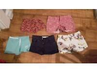 5 girls shorts