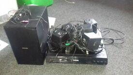 Philips surround system black