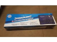 Silverline 406917 Deep Off Ring Spanners - Set of 8