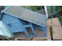 Guinea pig/ rabbit outdoor hutch/ run