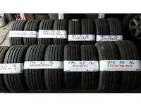 "BRANDED 16"" NEW & AS NEW PERFORMANCE TYRES FROM £25-£35 loads more txt tyre size for price & av"