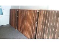 top quality fencing panels ( 6 no )
