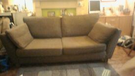 Beuatiful Marks & spencer 3 seater sofa £65