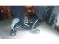 double pram for sale collection only mountain ash