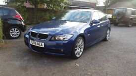 Bmw 3 Msport 2.0 petrol. Very low mileage 38000. Full BMW service history!