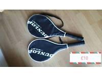 2x tennis rackets
