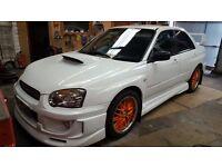 Price Dropped!! Subaru Impreza blobeye WRX (full STI conversion) Engine rebuild 0000s just spent