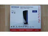 NETGEAR DGND3700-100UKS N600 Dual Band Gigabit Wireless ADSL2+ Modem Router for Phone Connections