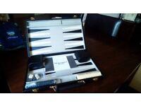 New backgammon set