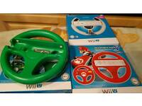 3 steering wheels