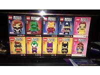 Lego Brick heads full set of 10