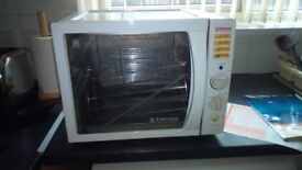 Express rotisserie and bbq electric oven