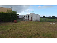 Horse Yard to rent with stables Arena & Grazing
