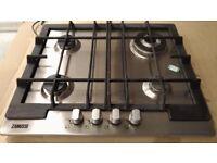 AEG cooker hood and Zanuzzi four gas burner hob