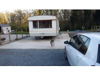 static caravan to rent in a nice secluded area would parking space