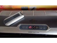 Airforce Wall Mounted Heater With Remote Control and built in timer
