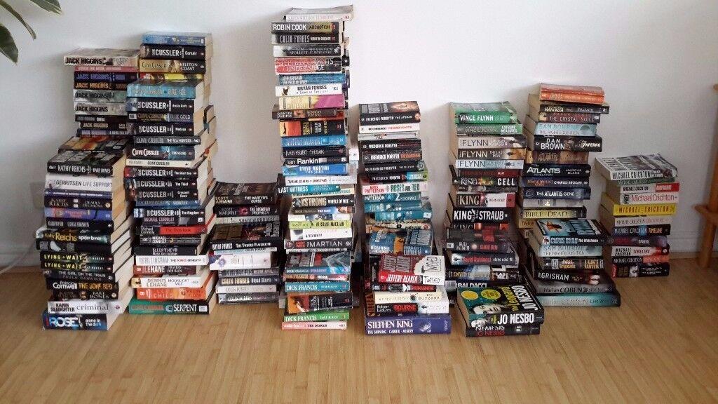 Job lot of 260 Good Quality Paperback Novels