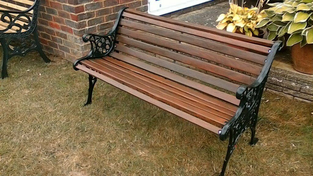 Magnificent Restored Vintage Cast Iron Garden Bench In Brighton East Sussex Gumtree Caraccident5 Cool Chair Designs And Ideas Caraccident5Info
