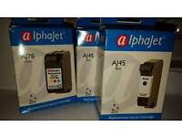 Compatible ink cartridges 1 x hp78 tricolour and 2 x hp45 black