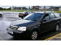 Chevrolet Lacetti estate black