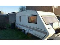 bessacarr cameo twin axle caravan