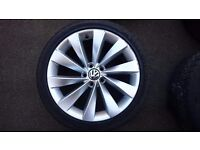 For sale alloys 5x112 18""