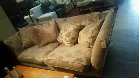 Large patterned Knole sofa (Fm Cambridge Re-Use)