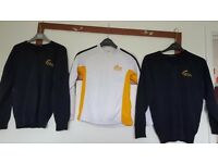 Boys school jumpers and pe top
