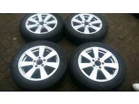 GENUINE MERCEDES 16 INCH ALLOY WHEELS 5X112 C E CLASS VITO VANEO