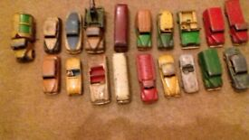 Large Collection of Vintage Dinky, Corgi , Lesney, GTC + More Model Cars & Accessories