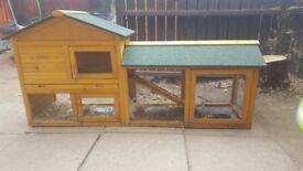 Large 6ft 2 Storey rabbit hutch
