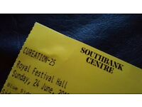Robert Smith of The Cure + special guests meltdown Southbank Fesival hall 24/06 pickup