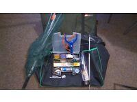 Fishing gear - Carp Rod,Barbel Rod,Fishing Reel,fishing Landing Net