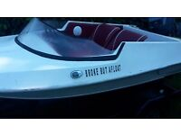 Fast wee speedboat