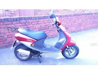 Peugeot Vivacity 50cc 2 stroke Moped (very low miles!!!)