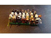 34 star wars lego minifigures