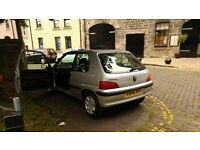 PEUGEOT 106 DIESEL,mot,d till july 2017,good condition PAS,electric window,built in CD /R , cat.c