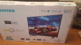 Smart TV Ultra HD 43""