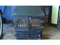 Dorset Villager multi fuel (wood and coal) burner