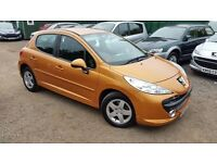 Peugeot 207 1.4 VTi Sport 5dr, LADY OWNER FROM NEW, GENUINE LOW MILEAGE, HPI CLEAR, LONG MOT