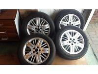 4 x Rover 75 alloys