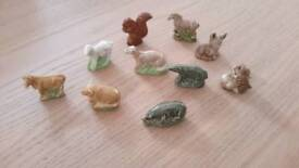 Collection of small China animals