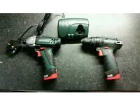 Metabo 10.8v twin pack new
