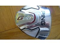 PING G20 10.5 DEGREE DRIVER. MINT ORIGINAL CONDITION.