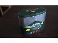Bosch IXO cordless screwdriver LI-ION battery in original metal case